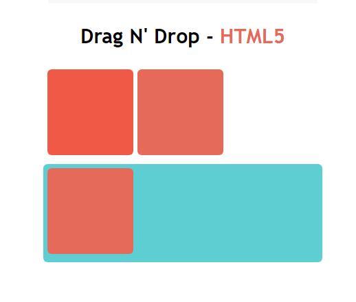 将div图层拖拽移动到另一个div里的javascript代码