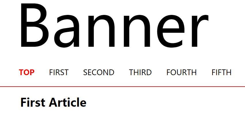 html网页顶部固定a标签锚点定位滑动切换效果jquery代码