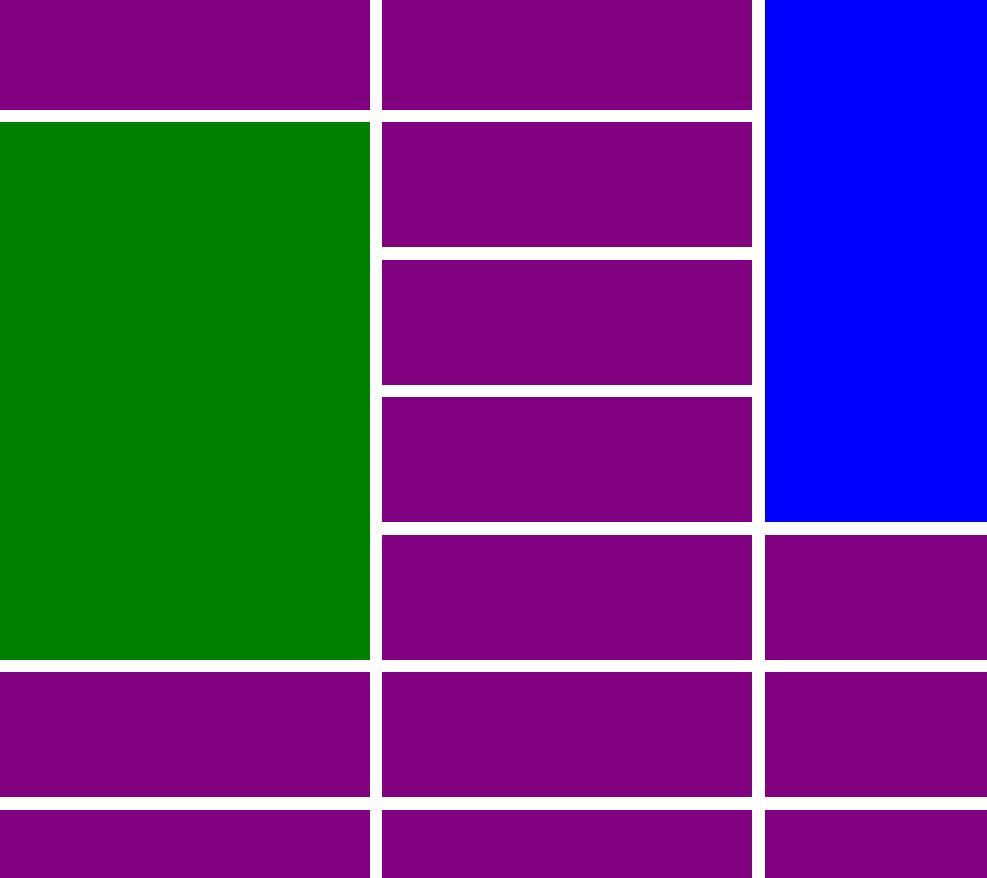 动态网格自适应排版布局html5css3样式特效代码