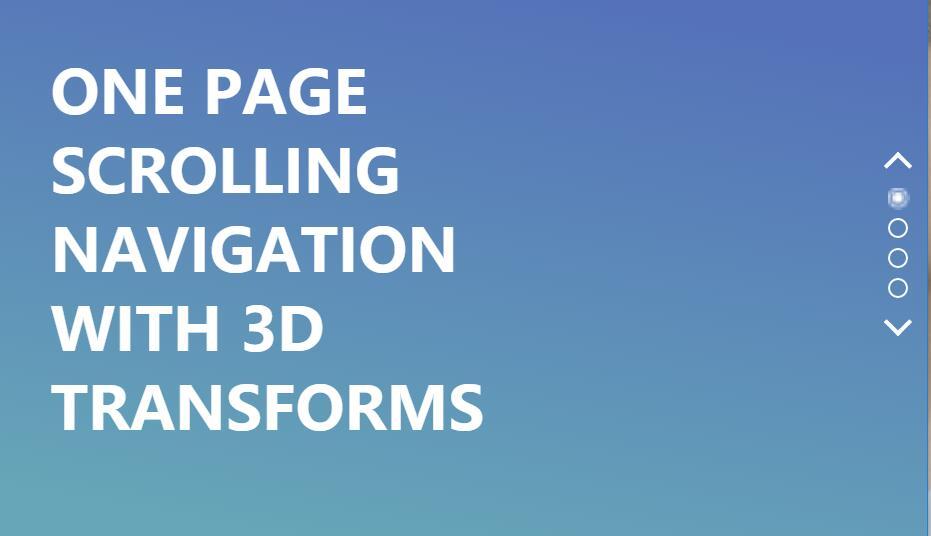 滚动鼠标div图层3D翻转切换锚点定位插件jQuery代码
