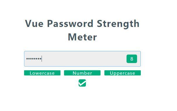 form表单密码强弱复杂度验证表达式vue代码