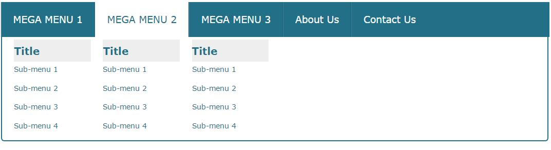html5css3模仿京东天猫商城网站响应式分类导航菜单样式代码