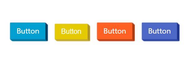 blog博客CSS 3D按钮弹性特效网页素材代码