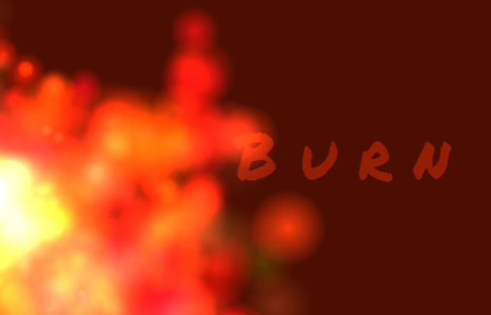 html5 canvas火焰滚滚燃烧特效鼠标跟随JavaScript代码
