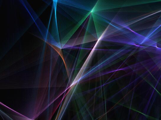 轮廓线条颜色渐变动画JavaScript canvas代码网页素材