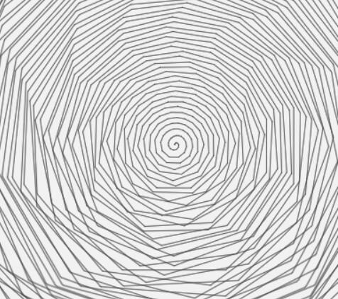 canvas画布螺旋条图层旋转特效js网页素材代码