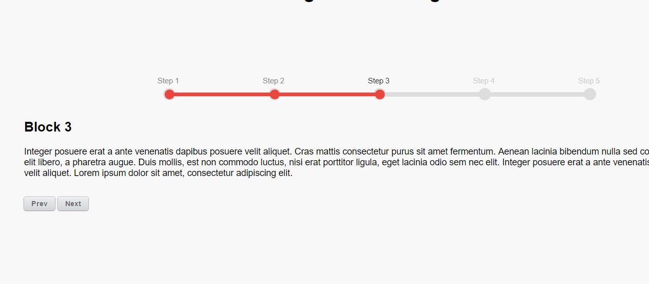 jQuery代码模仿分步骤注册效果动画进度条网页素材代码