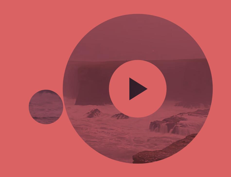 网页鼠标移动遮罩图层跟随video视频特效网页代码