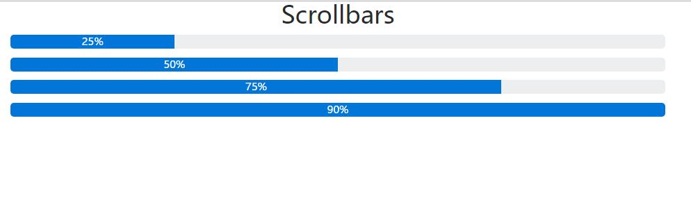 Bootstrap插件jQuery选择器百分比进度条特效代码