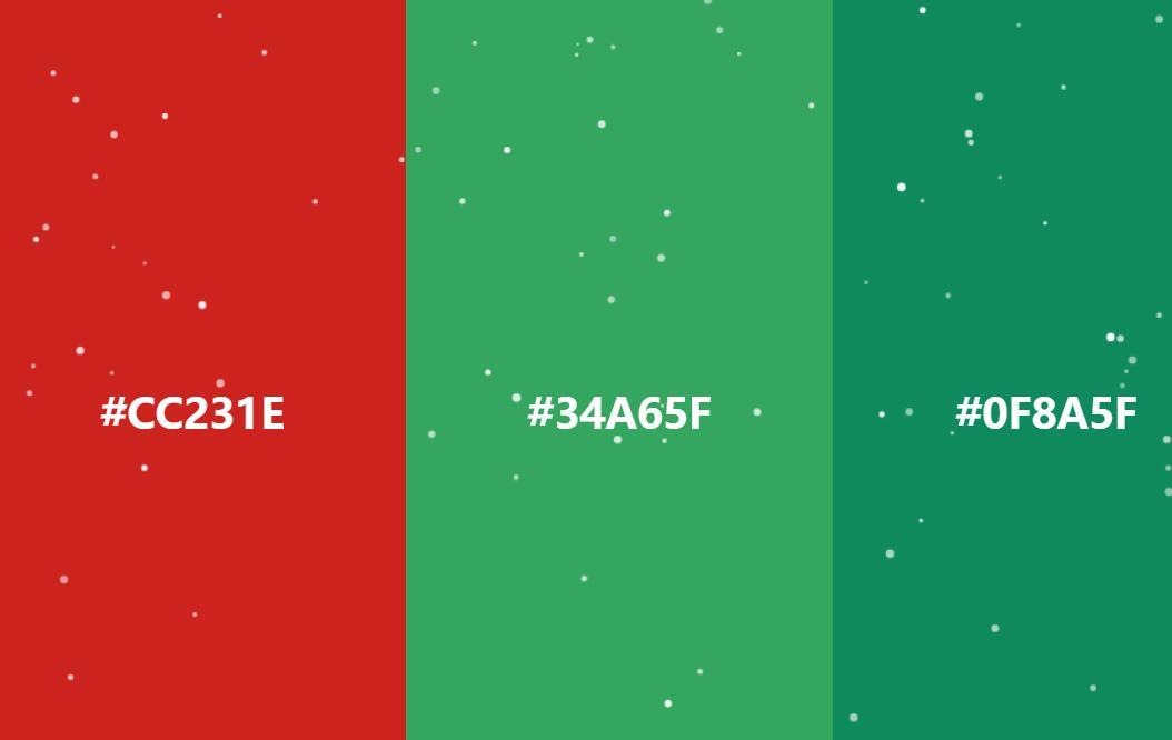 网页全屏圣诞节雪花飘落特效canvas JavaScript代码