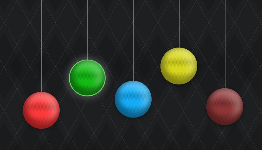 button标签按钮制作3d球形悬挂点击发光特效div css代码