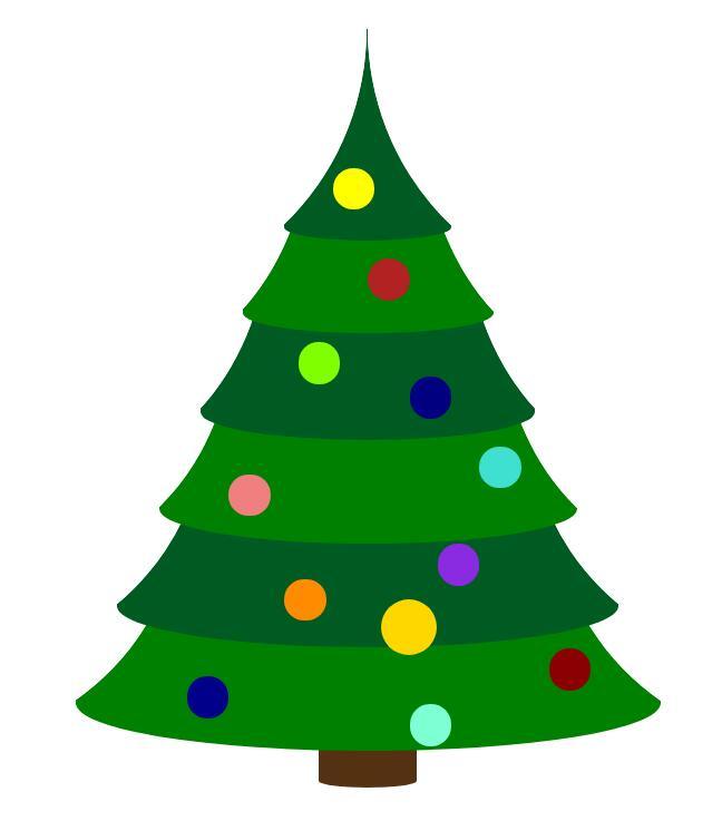 div css圣诞树模型特效静态网页模板素材代码