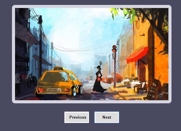 点击左右按钮图片来回翻转切换特效css3动画样式