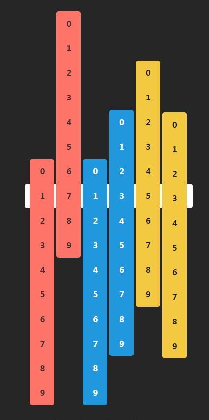 时分秒24小时滑动时钟动画jQuery选择器插件代码
