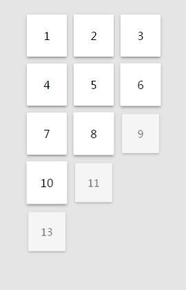 网页列表图层渐变显示加载动画特效jQuery代码