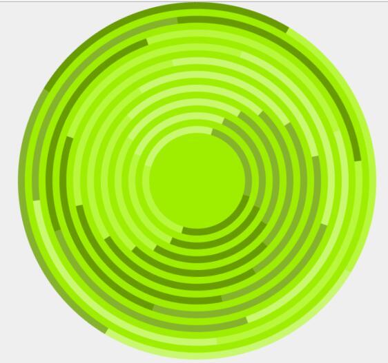 css3圆形旋转动画特效网页素材代码