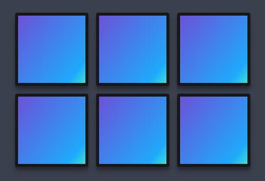 div网格布局背景颜色线性渐变css3网页样式代码
