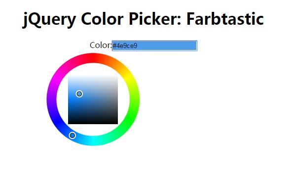 网页磁性取色插件jQuery代码