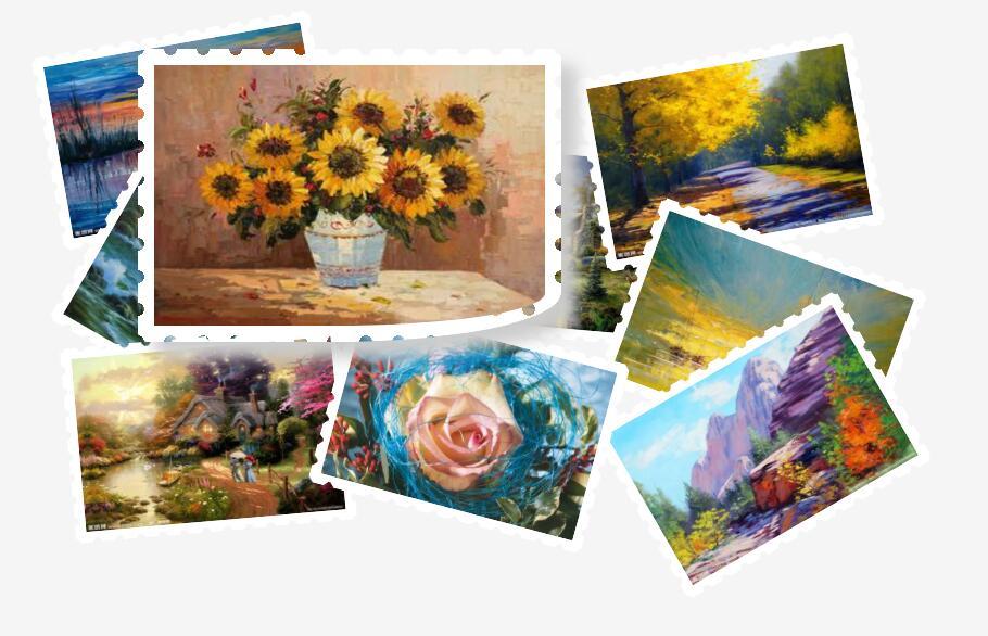 油画走廊图片过度放大特效css3动画代码