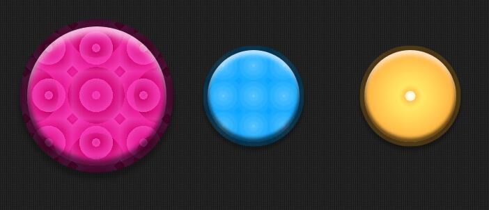 css3圆形3d鼠标悬浮背景颜色动画特效样式