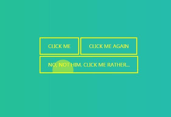 鼠标点击button按钮波浪脉冲信号动画特效设计css3样式