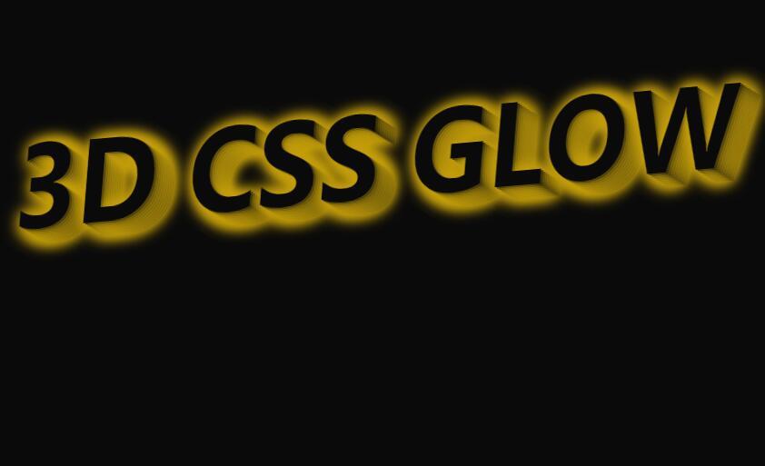 css3阴影3d文字颜色渐变发光摇摆特效样式代码