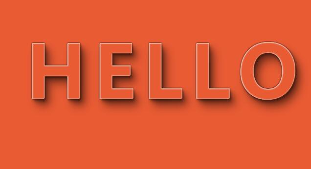 hello文字阴影html5css3网页素材样式代码