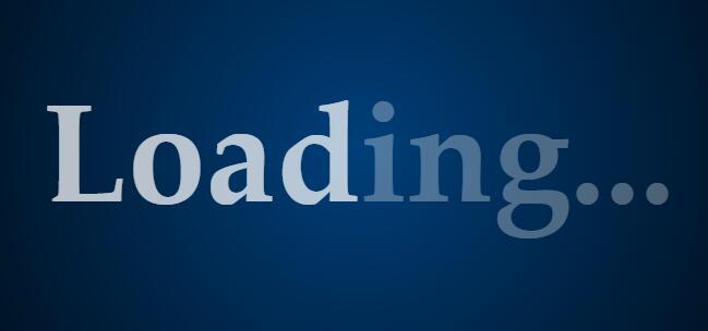 css3网页加载动画样式代码 loading animation