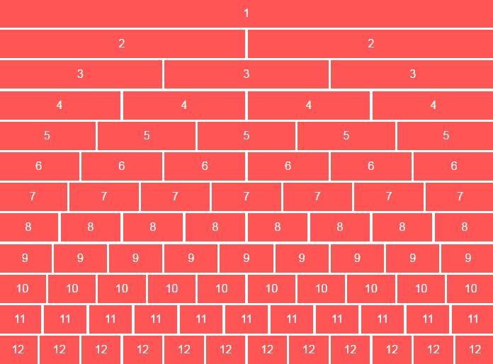 div css样式计算width宽度值网格布局加载渐变显示特效网页素材代码