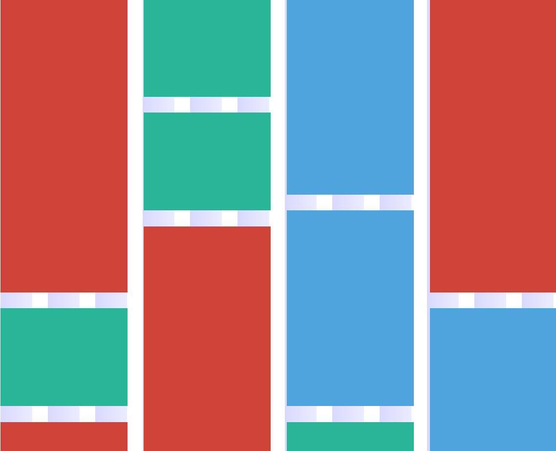 网页图片列表自适应排版布局瀑布流插件jQuery代码