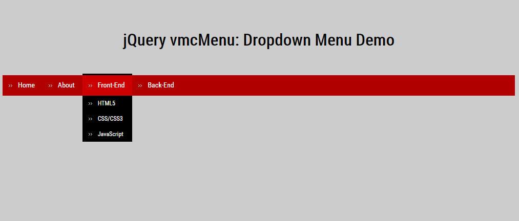 面包屑导航条下拉菜单动画特效插件jQuery代码