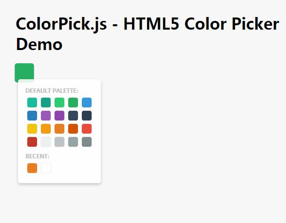html5网页拾色器插件jQuery选择器代码