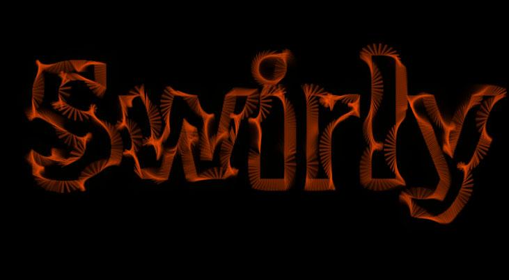 html5 canvas艺术文字动画特效js网页素材代码