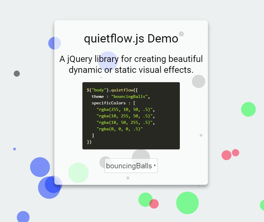 canvas网页背景动画选择器插件JavaScript站长素材模板代码