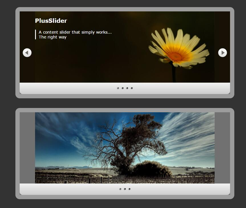 网页banner图片左右循环滑动切换幻灯片焦点图插件jQuery代码