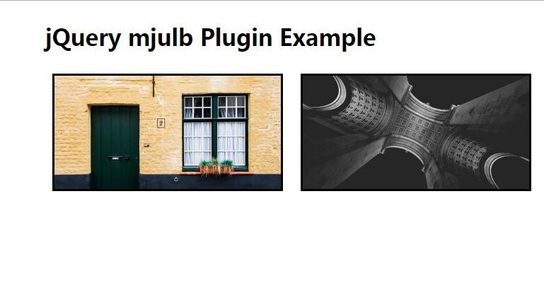 jQuery图片点击放大预览插件选择器代码