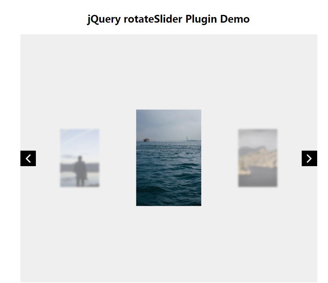 jQuery rotateSlider图片回转切换滑块插件代码