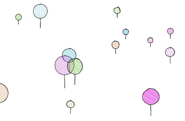 html5 canvas气球向上升起动画特效JavaScript代码
