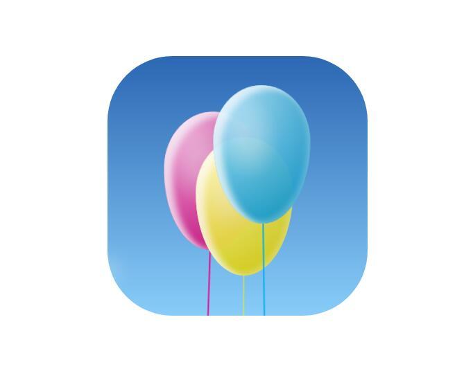 html5css3样式代码制作彩色气球摇摆动画特效