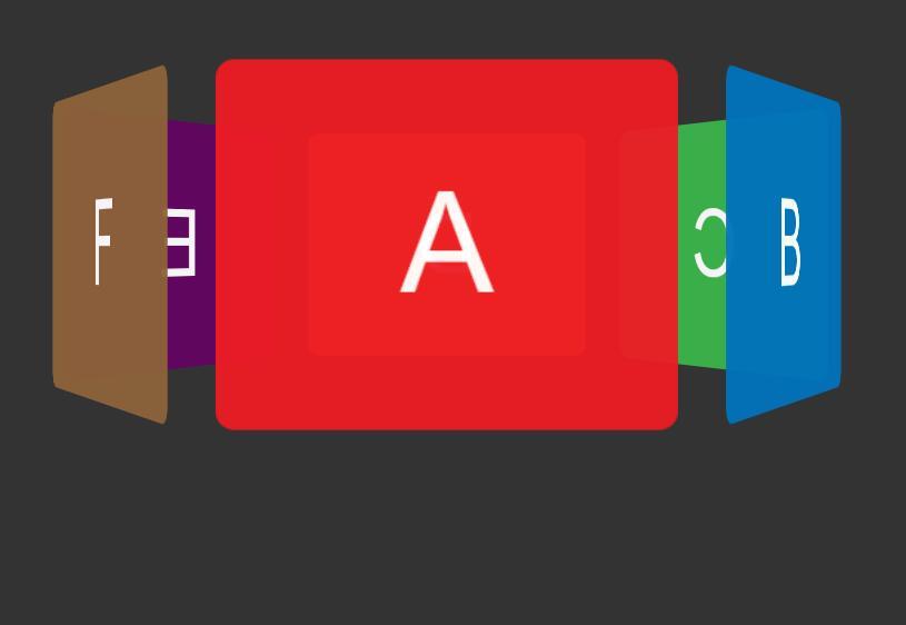 html5css3网页图片3d旋转特效网页素材幻灯片代码