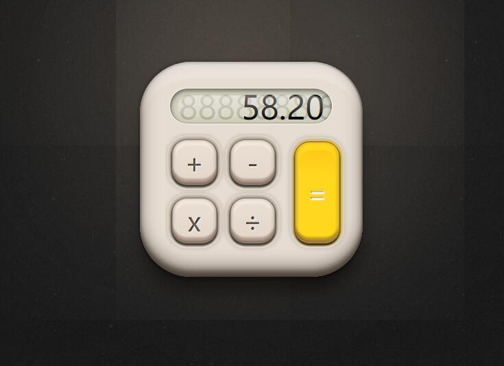 简单电子计算器3d模型css3动画网页样式代码