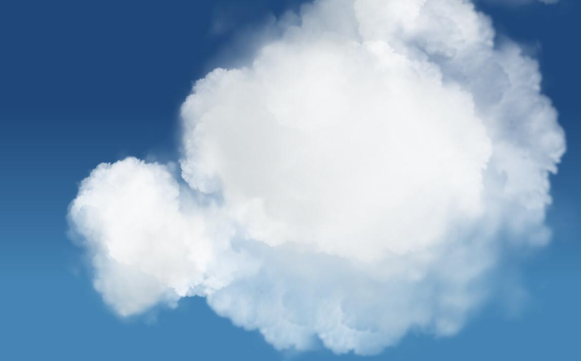 白云动画漂浮鼠标跟随特效css3样式网页素材代码