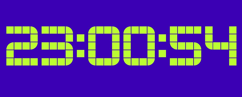 网页数字电子时钟JavaScript代码网页特效