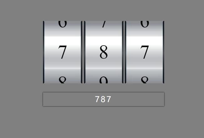 html5网站jQuery数字随机调整筛选旋转插件web素材代码