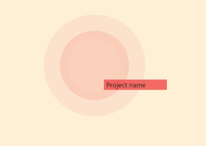 html5css3鼠标悬浮放大渐变波浪动画效果web网页代码