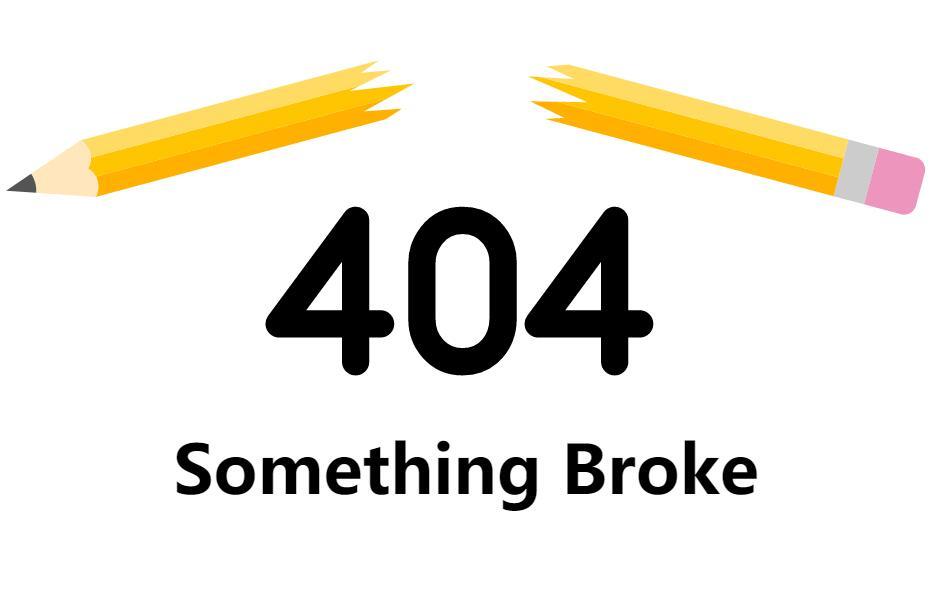 网页404页面svg动画代码站长素材网