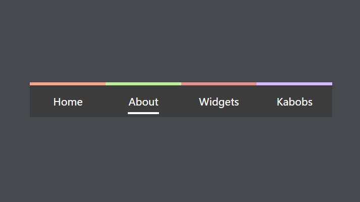 网页面包屑导航条鼠标悬浮动画显示css3选择器代码