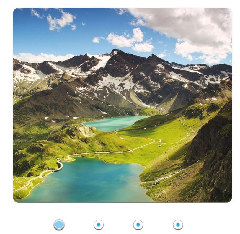 3D button按钮图片左右滑动循环轮播切换焦点图插件jQuery代码