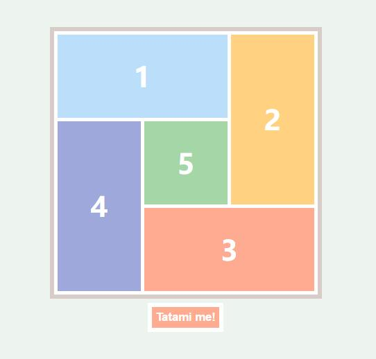 JavaScript随机代码七巧板排版布局特效web素材