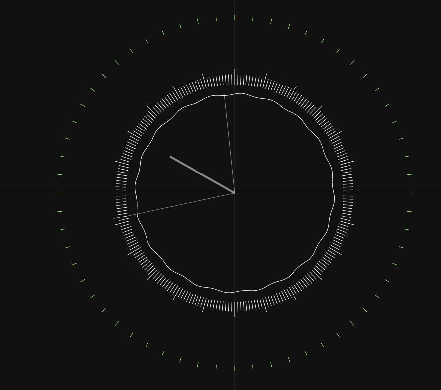 html5 canvas网页圆盘时钟代码JavaScript特效
